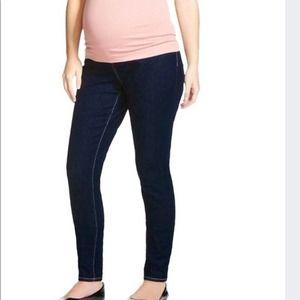 Liz Lange Maternity blue jeggings size small